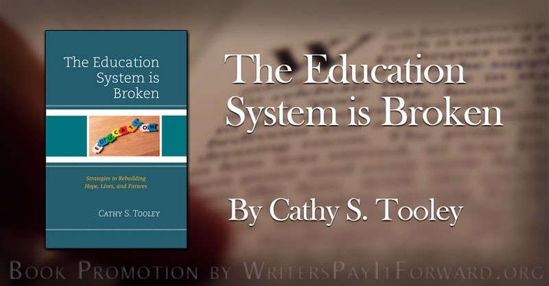 the education system is broken banner