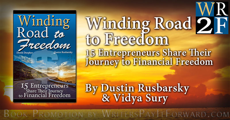 Winding Road to Freedom banner