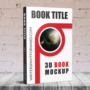 3D Book Mockup Hardcover 6x9