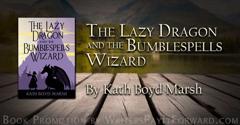 The Lazy Dragon and the Bumblespells Wizard banner
