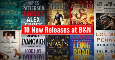 10 new releases at barnesandnoble